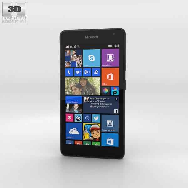 microsoft lumia 535 3D
