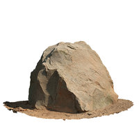 3D model photo rock