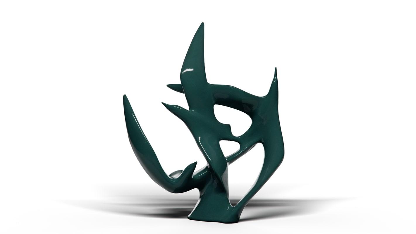 swallows ceramics 3D model