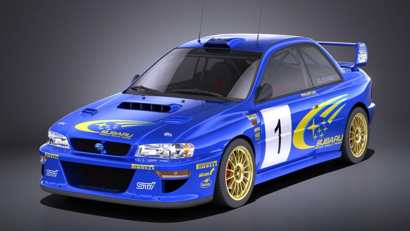 Subaru Impreza 1993 3D
