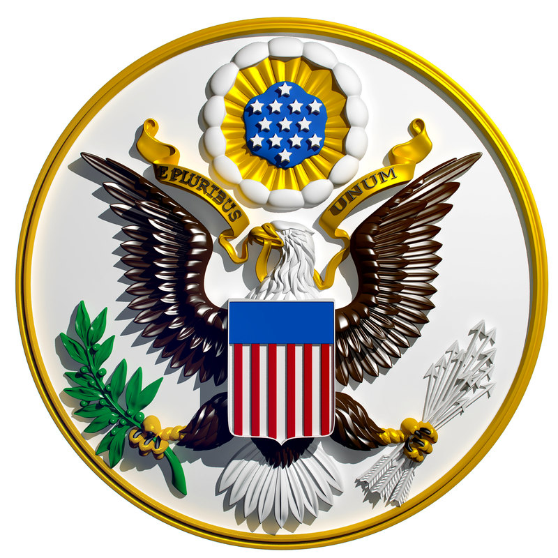 Resultado de imagem para picture of the coat of arms of USA