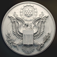 Great Seal of the USA for a 3d printer