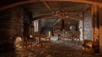 Medieval Interior Set