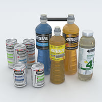 3D isotonic drink 4move