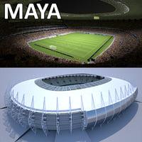 Soccer Stadium CF (MAYA)