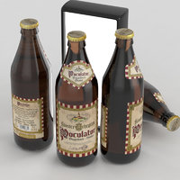beer bottle bock 3D model