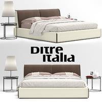 ditre italia monolith bed 3D