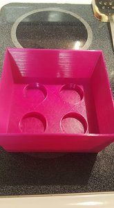 3D box cups change