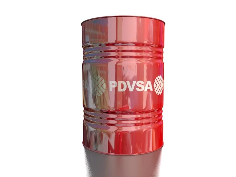 pdvsa oil barrel 3D model