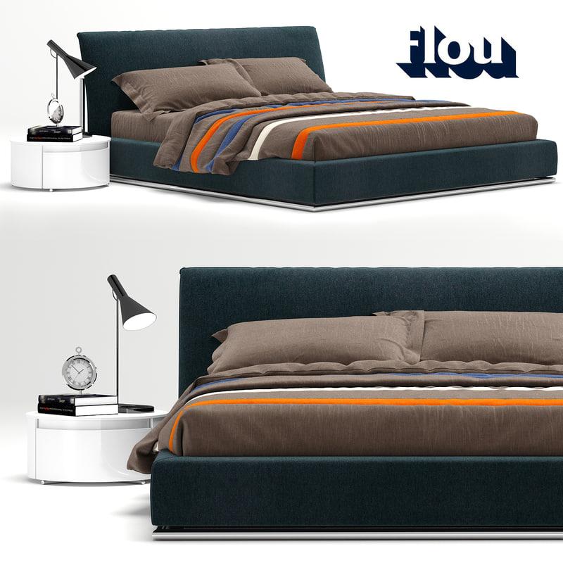 3D flou sailor bed