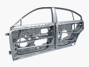 car door frame 3D model