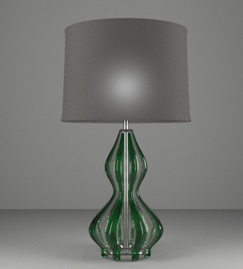 green glass 3D