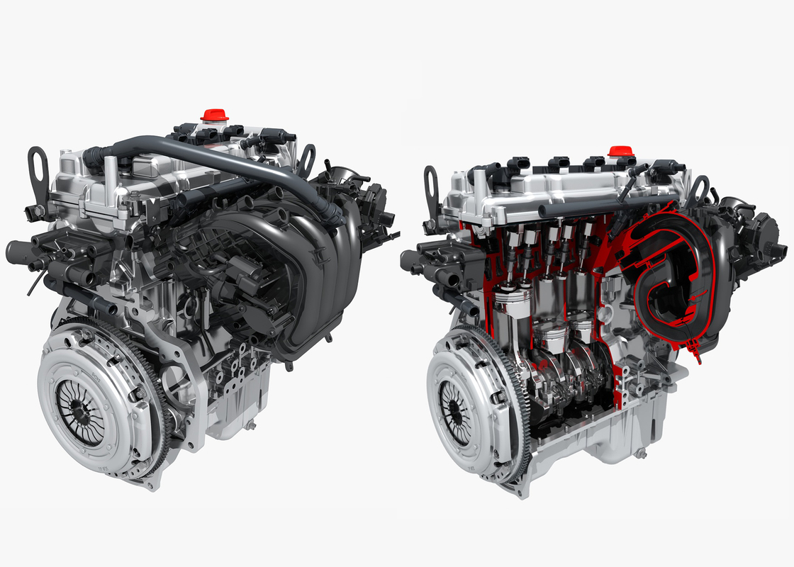 engine cut model