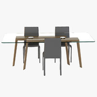 Photorealistic Pacini & Cappellini Ten For Ten Dining Table By Giuliano E Gabriele