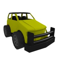 Lowpoly Yellow Jeep