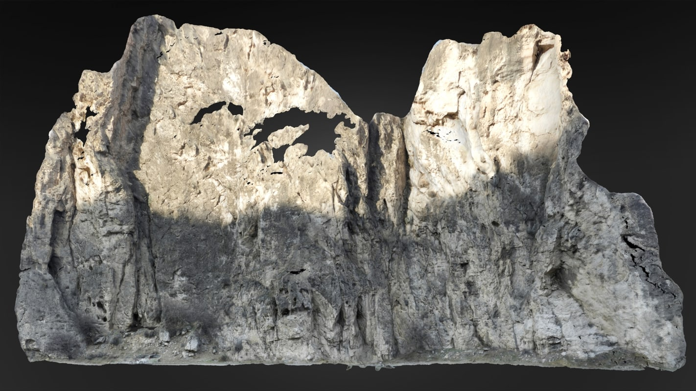 rock 2 3D model