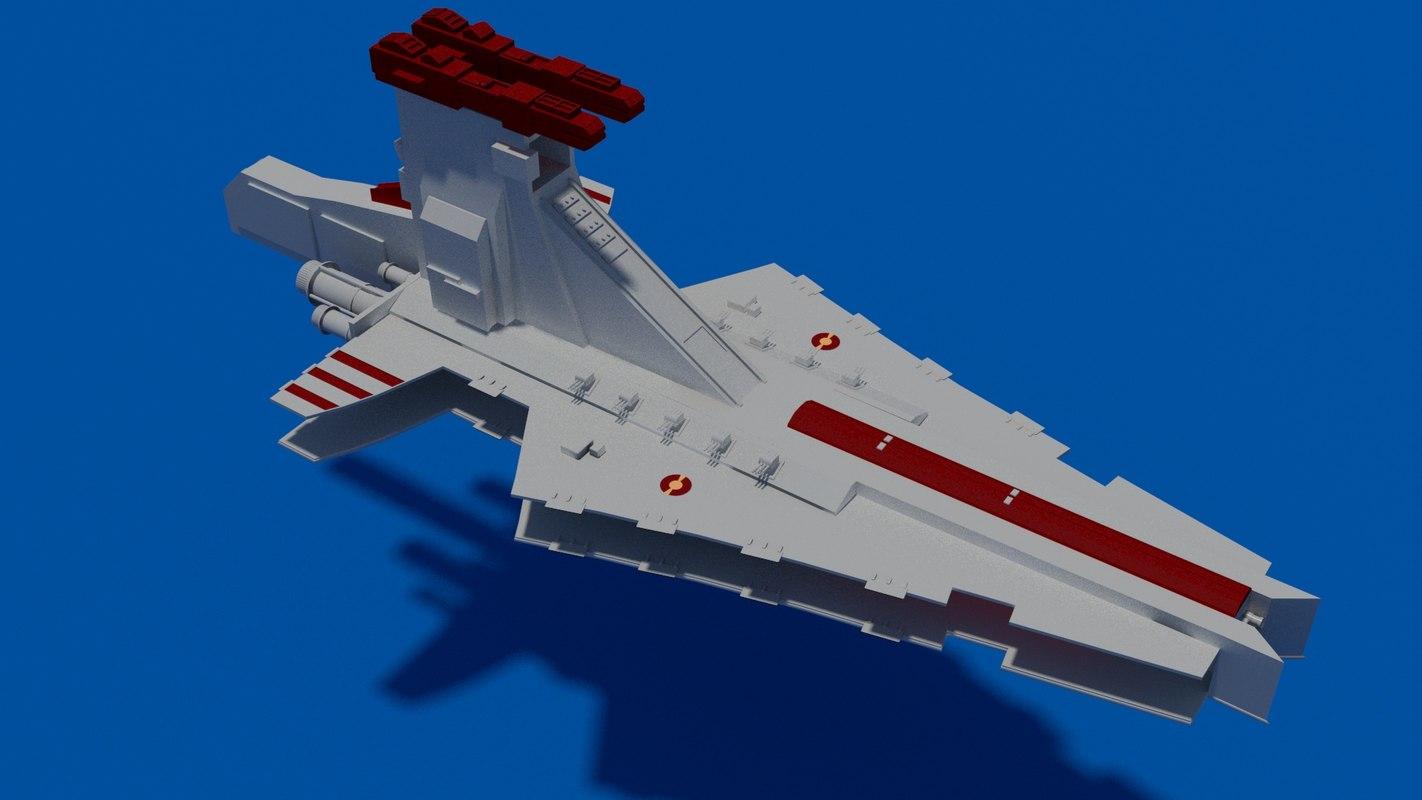 star wars venator class model