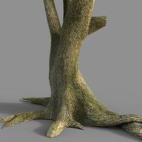 tree 2 3D model