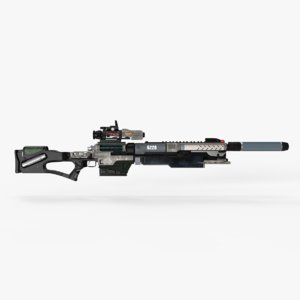 3D sniper rifle