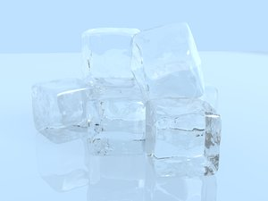 3D ice cubes refined