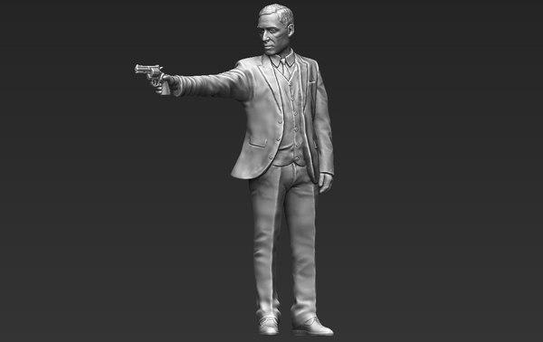 3D al pacino michael corleone