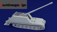 Geschtzwagen Tiger (GW Tiger)