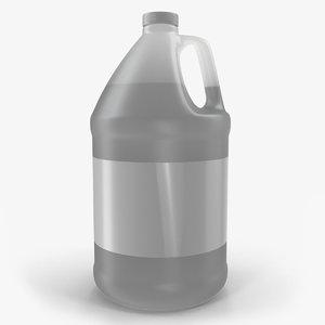 plastic jug lid gallon 3D