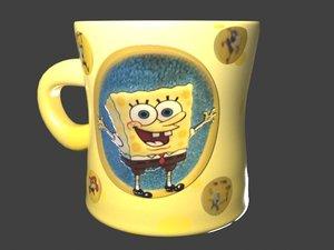 cup bob 3D model