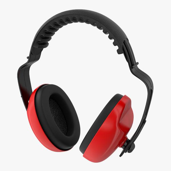 protective headphones work 3D