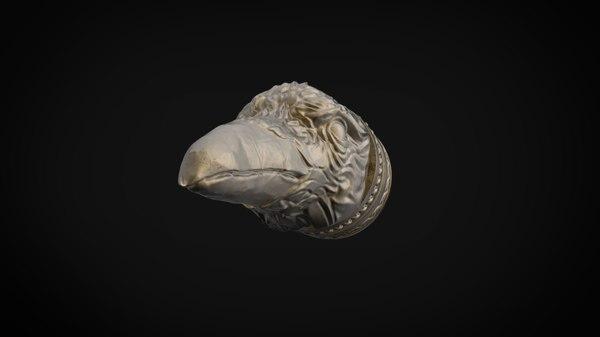 raven print 3D