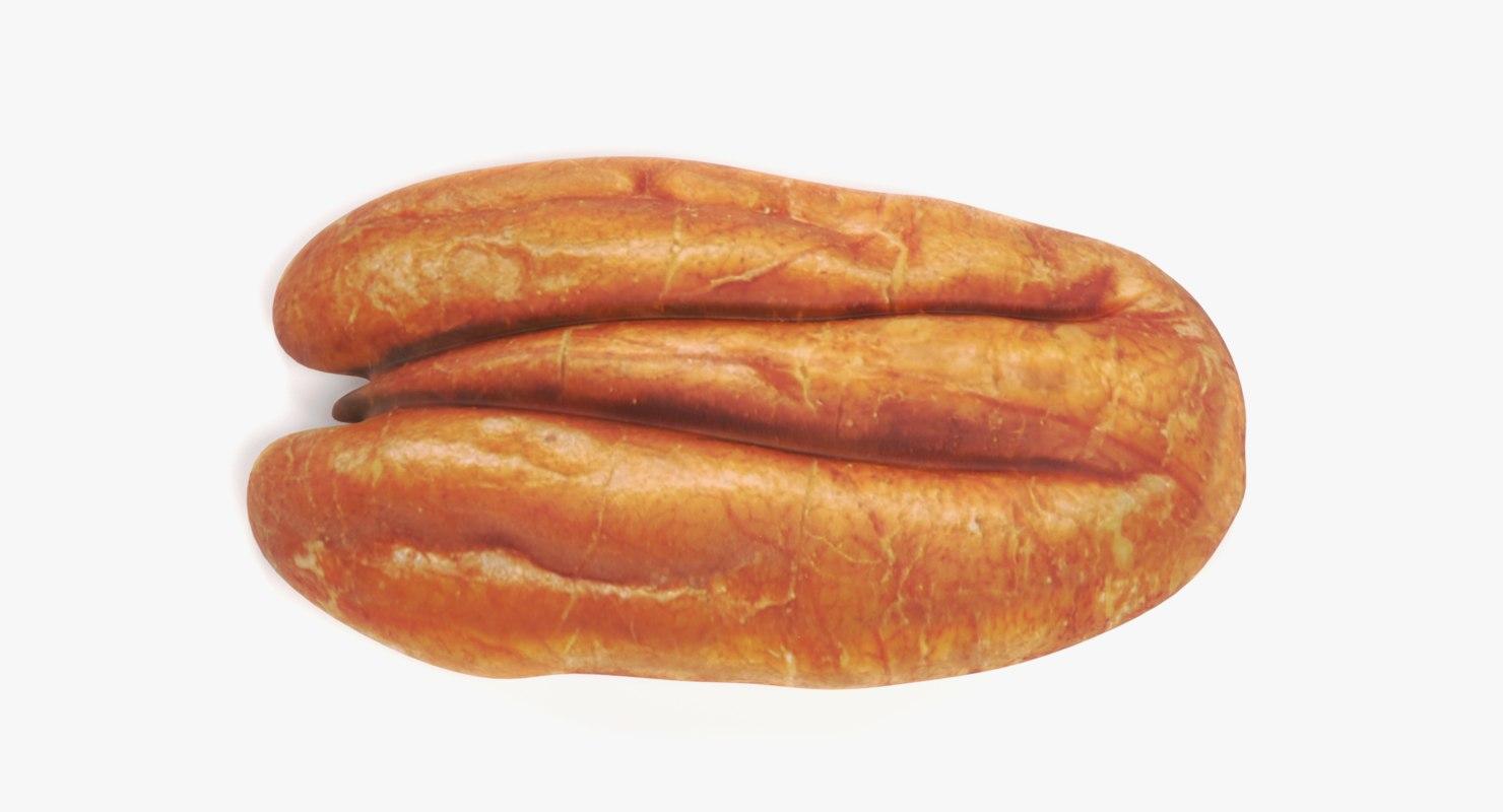 3D pecan nut