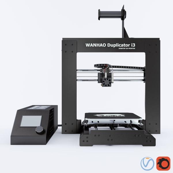 3D wanhao dublicator i3 v