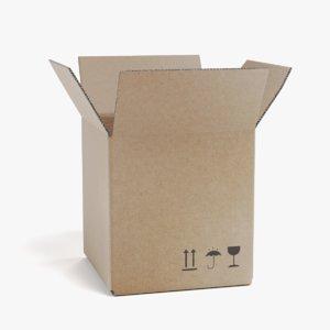cardboard box 2 3D