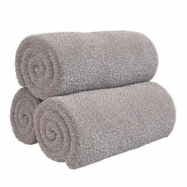 3D model rolled towels