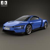 3D model volkswagen xl sport