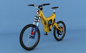 electric bicycle cycle 3D model