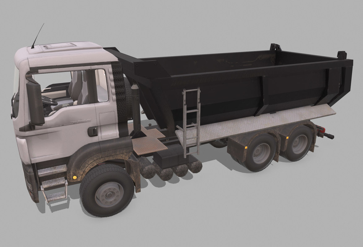 construction simulators 3D model