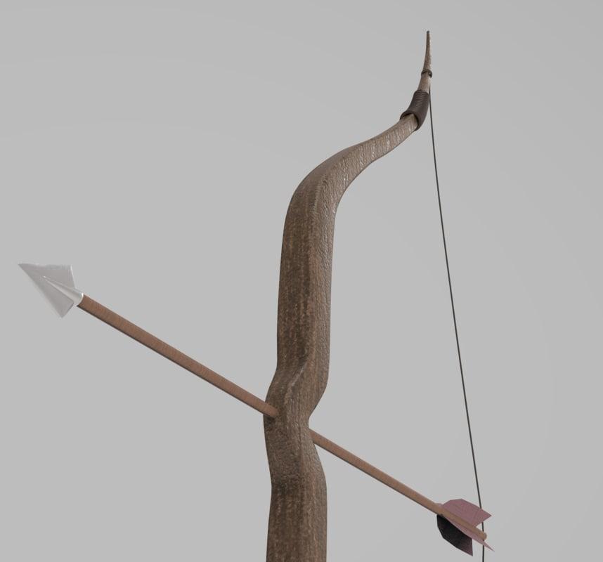 arch arrow arc 3D model