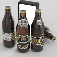 beer bottle dunkel model