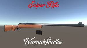 3D sniper rilfe model