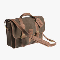 Leather Bag Wright Brothers