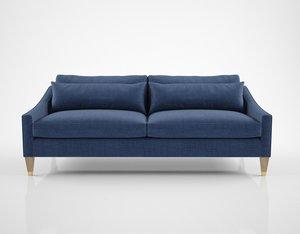 linley portofino sofa 3D model