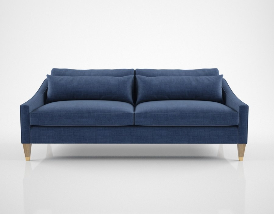 linley portofino sofa 3D model