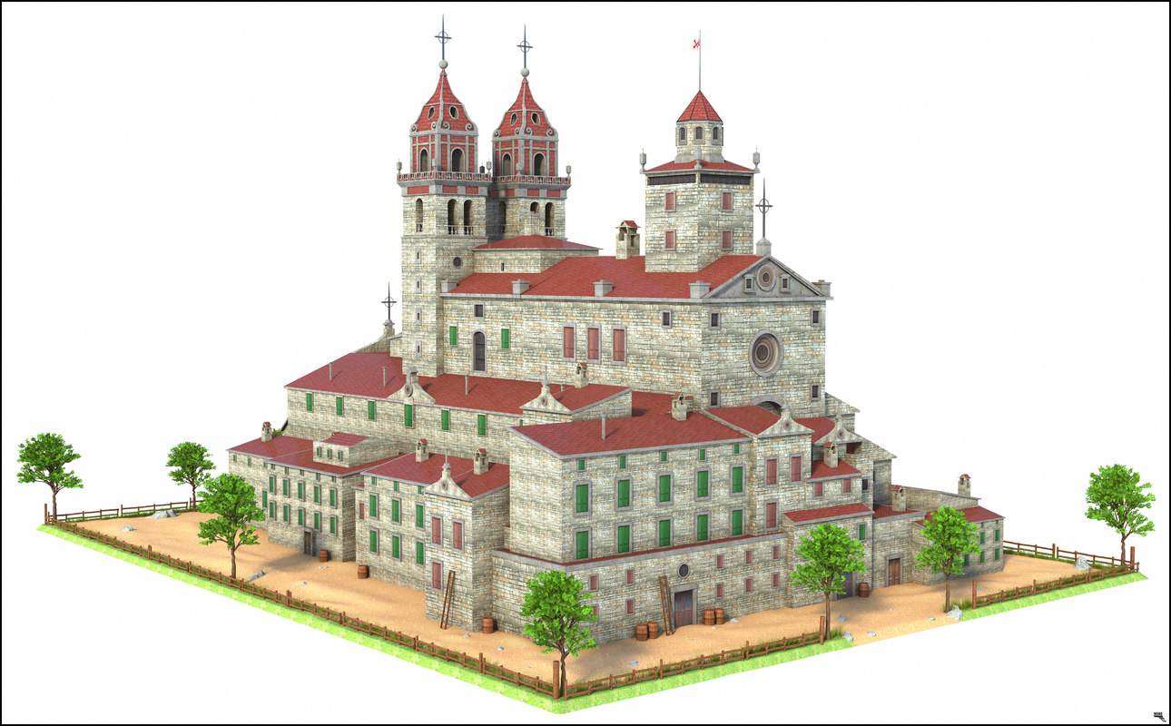 historic building 3D model