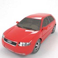 a3 car 3D model