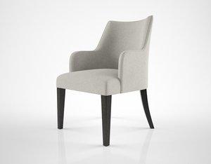 3D oasis musa armchair