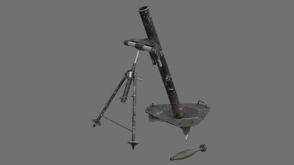 mortar 1b 3D