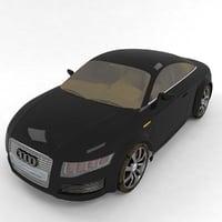 3D nuvolari car salon