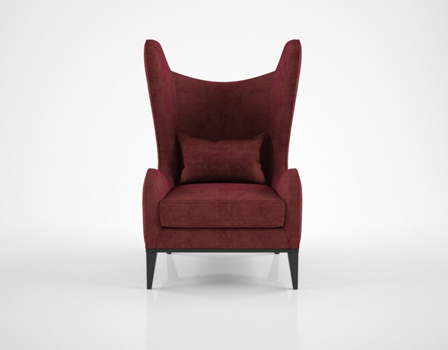 sofa chair monroe armchair 3D