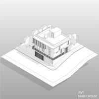 revit house 3D model